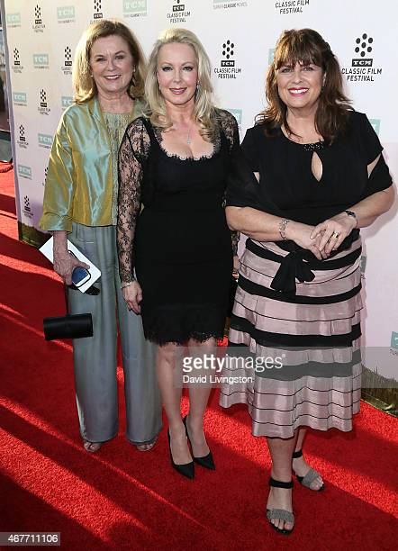 Actresses Heather MenziesUrich Kym Karath and Debbie Turner attend the 2015 TCM Classic Film Festival Opening Night Gala 50th Anniversary Screening...