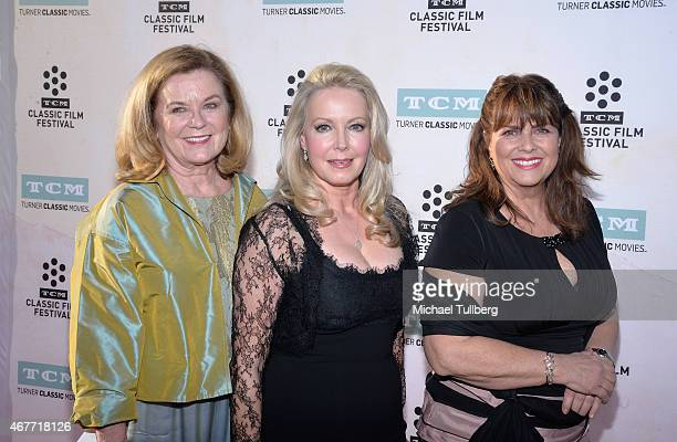 Actresses Heather MenziesUrich Kym Karath and Debbie Turner attend the 50th Anniversary screening of The Sound of Music at the 2015 TCM Classic Film...