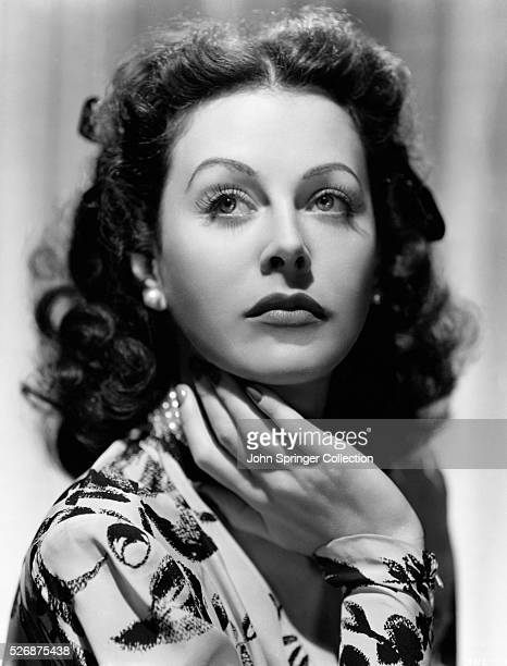 Actresses Hedy Lamarr
