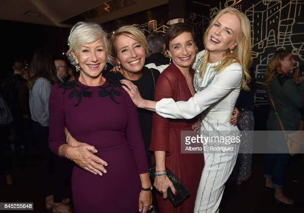 Actresses Helen Mirren Emma Thompson Kristin Scott Thomas and Nicole Kidman attend Entertainment Weekly's Must List Party during the Toronto...
