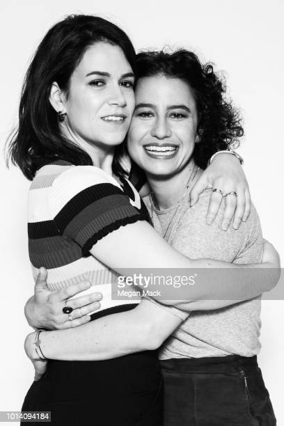 Actresses Ilana Glazer Abbi Jacobson are photographed for The Wrap on June 1 2018 in Brooklyn New York PUBLISHED IMAGE