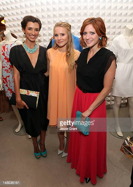 Actresses India de Beaufort Kristen Bell and Brittany Snow attend the 31 Phillip Lim and Brancott Estate Celebrate The Release of City of Style by...