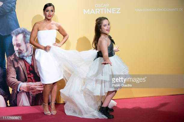 Actresses Inma cuesta and Mafalda Carbonell attend 'Vivir Dos Veces' premiere at Capitol cinema on September 05 2019 in Madrid Spain