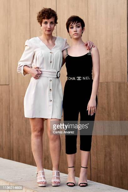Actresses Irene Anula and Greta Fernandez attend 'Asamblea' photocall during the 22th Malaga Film Festival on March 16 2019 in Malaga Spain