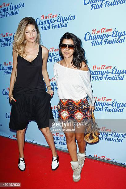 Actresses Isabelle Funaro and Reem Kherici attend the Fastlife Paris Premiere on June 11 2014 in Paris France