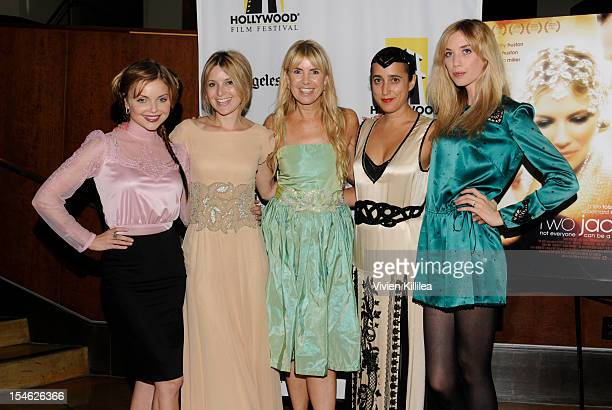 Actresses Izabella Miko Hanah Cowley Julia Verdin costume designer Julia Clancey and actress Laura Clery attend 16th Annual Hollywood Film Festival...