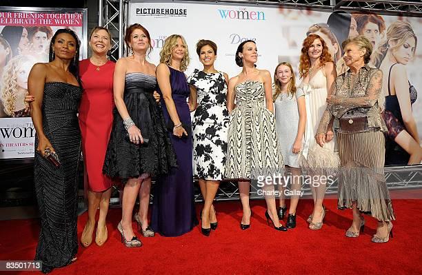 Actresses Jada Pinkett Smith, Annette Bening, Debra Messing, Meg Ryan, Eva Mendes, Debi Mazar, India Ennenga, Tilly Scott Pedersen, and Cloris...