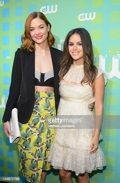 Actresses Jaime King and Rachel Bilson attend The CW Network's New York 2012 Upfront at New York City Center on May 17 2012 in New York City
