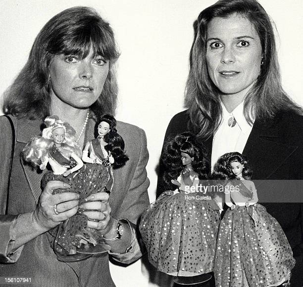 Actresses Jane Curtin and Susan Saint James attending 'Special Edition Barbie Doll Benefiting UNICEF' on October 16 1989 at the UN Building in New...