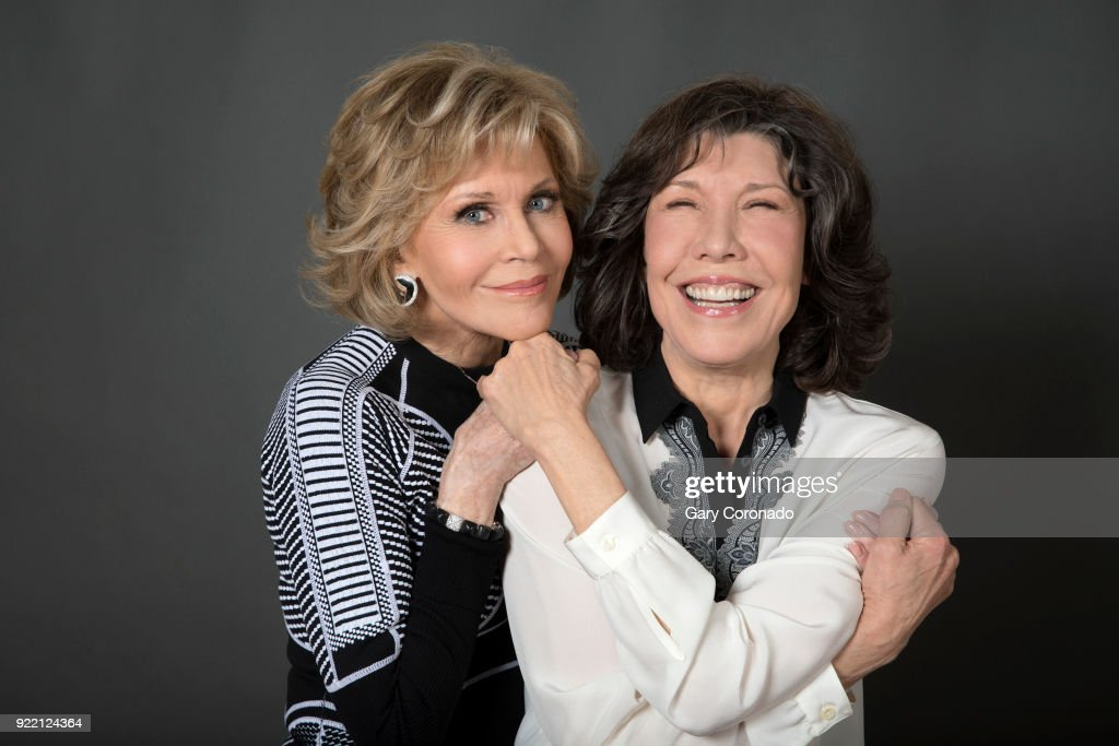 Jane Fonda and Lily Tomlin, Los Angeles Times, January 19, 2018 : News Photo