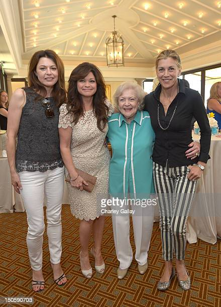 Actresses Jane Leeves Jenny Craig Spokesperson Valerie Bertinelli Betty White and Wendie Malick attend Jenny Craig Spokesperson Valerie Bertinelli...