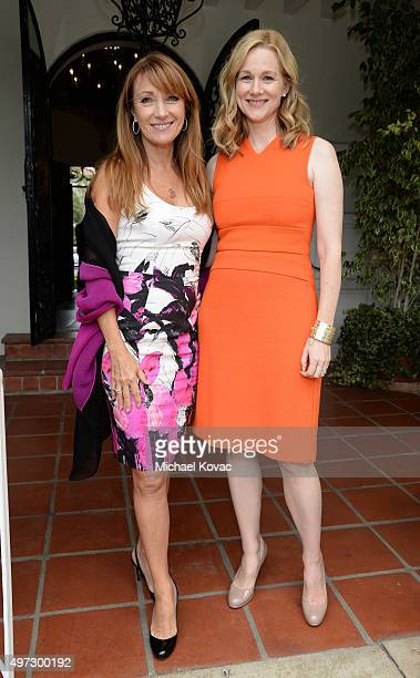 Actresses Jane Seymour and Laura Linney attend Brunch With Sir Ian McKellan Hosted By British ConsulateGeneral at British Consul General's Residence...