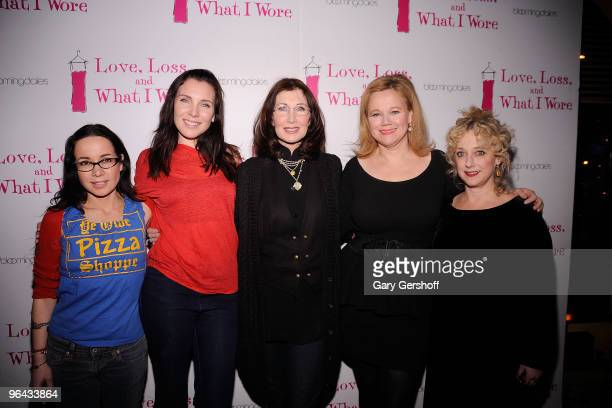 Actresses Janeane Garofalo June Diane Raphael Joanna Gleason Caroline Rhea and Carol Kane attend the Love Loss and What I Wore new cast member...