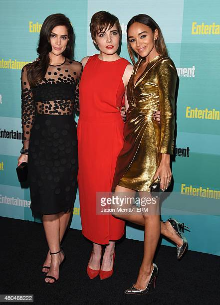 Actresses Janet Montgomery Elise Eberle and Ashley Madekwe attend Entertainment Weekly's ComicCon 2015 Party sponsored by HBO Honda Bud Light Lime...