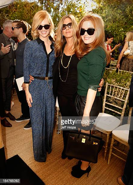 Actresses January Jones Jennifer Aniston and Isla Fisher attend CFDA/Vogue Fashion Fund Event hosted by Lisa Love and Mark Holgate and sponsored by...