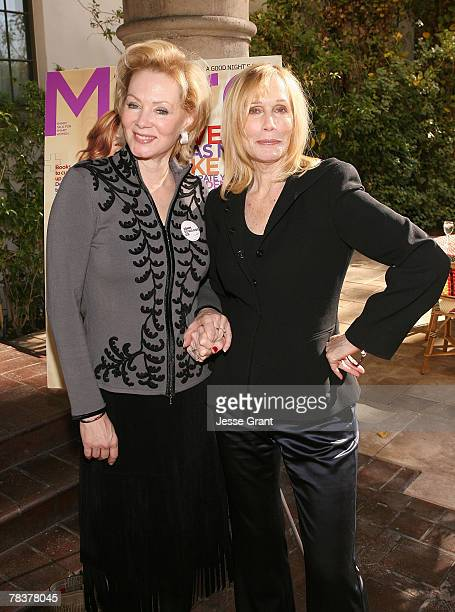Actresses Jean Smart and Sally Kellerman at the More Magazine and Women In Film filmmaker luncheon at Chateau Marmont on December 10, 2007 in West...