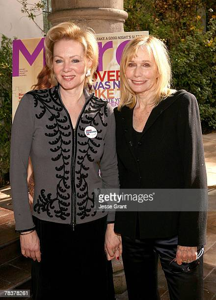 Actresses Jean Smart and Sally Kellerman at the More Magazine and Women In Film filmmaker luncheon at Chateau Marmont on December 10 2007 in West...