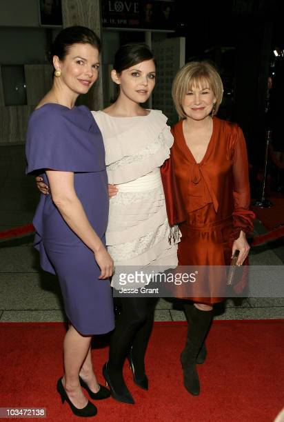 """Actresses Jeanne Tripplehorn, Ginnifer Goodwin and Mary Kay Place attend the 3rd season Los Angeles premiere of HBO's """"Big Love"""" held at The Cinerama..."""