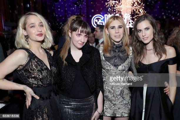 Actresses Jemima Kirke Lena Dunham Zosia Mamet and Allison Williams attend the After Party of the New York Premiere of the Sixth Final Season of...