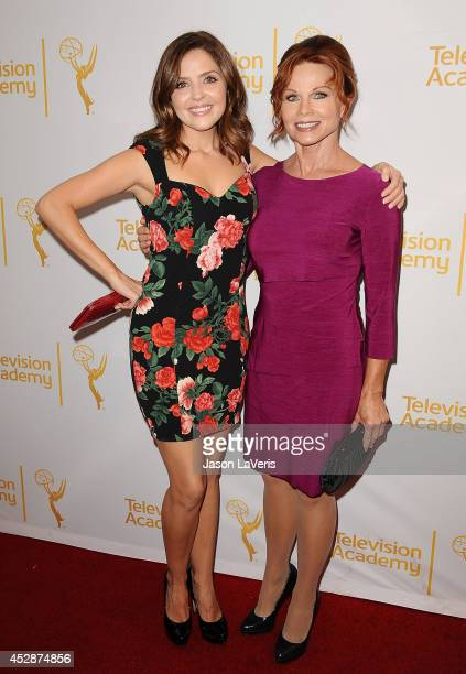 Actresses Jen Lilley and Patsy Pease attend the Television Academy's performers peer group celebrating the 66th Emmy Awards at Montage Beverly Hills...