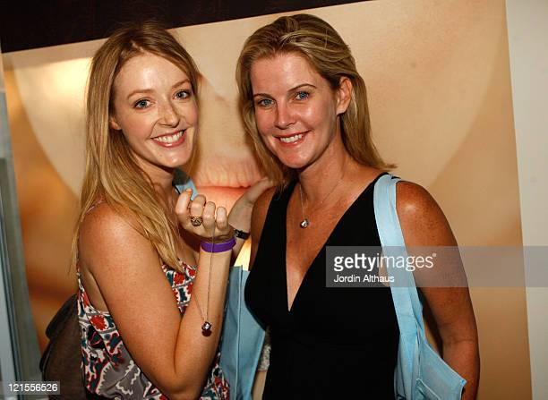Actresses Jennifer Finnigan and Maeve Quinlan attend the Kari Feinsten Primetime Emmy Awards style lounge at Zune LA on September 17 2009 in Los...