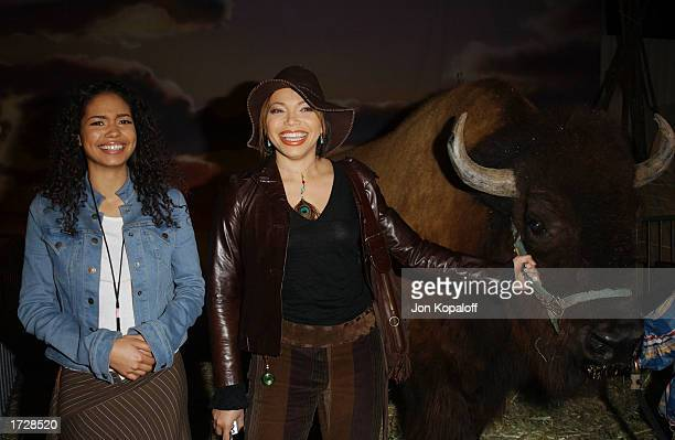 Actresses Jennifer Freeman and Tisha CampbellMartin attend 'The ABC AllStar Party' to celebrate the networks midseason television shows at Quixote...