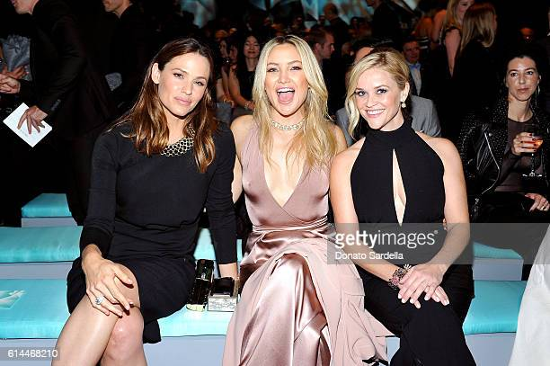 Actresses Jennifer Garner Kate Hudson and Reese Witherspoon attend Tiffany Co's unveiling of the newly renovated Beverly Hills store and debut of...