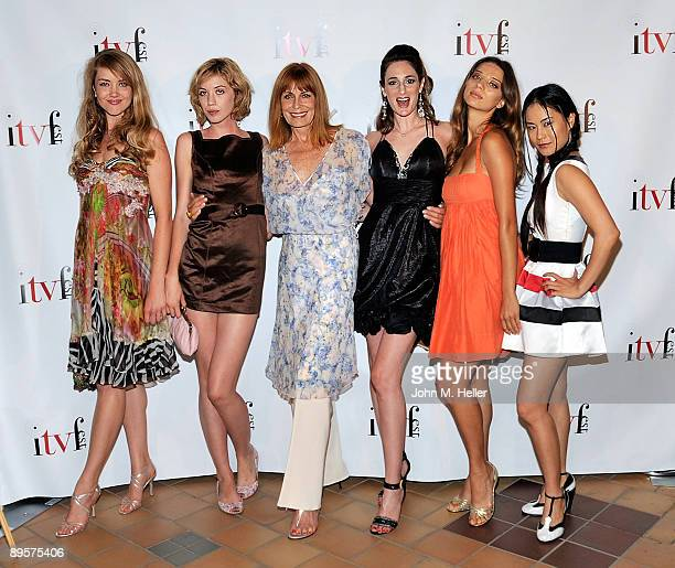 Actresses Jennifer Johnson Laura Clery Joanna Cassidy Director of Sex Ed Tamela D'Amico actresses Angela Sarafyan and Andrea Lui attend the premiere...