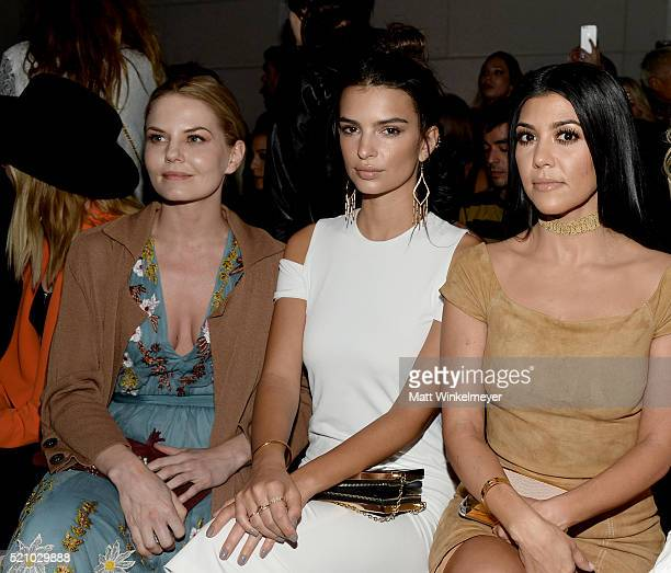 Actresses Jennifer Morrison and Emily Ratajkowski and TV personality Kourtney Kardashian attend the alice olivia by Stacey Bendet and Neiman Marcus...