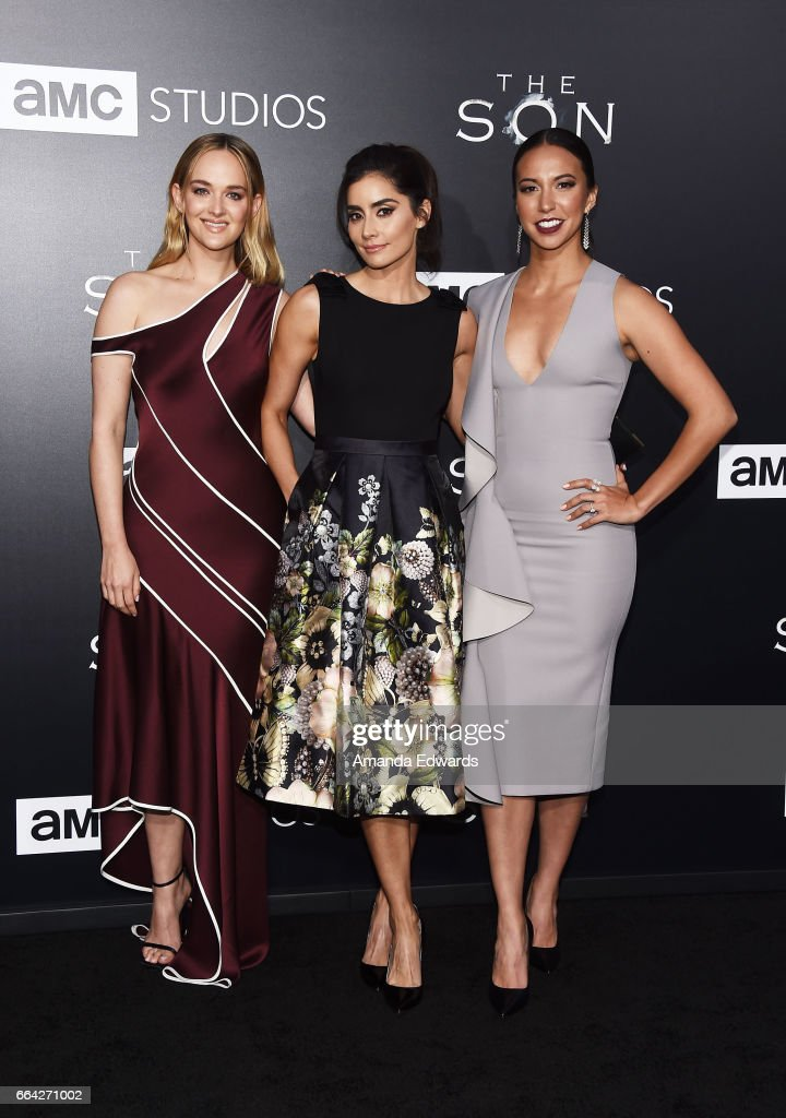 "Premiere Of AMC's ""The Son"" - Arrivals"