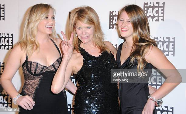 Actresses Jessica Capshaw Kate Capshaw and Destry Allyn Spielberg attend the 63rd Annual ACE Eddie Awards at The Beverly Hilton Hotel on February 16...
