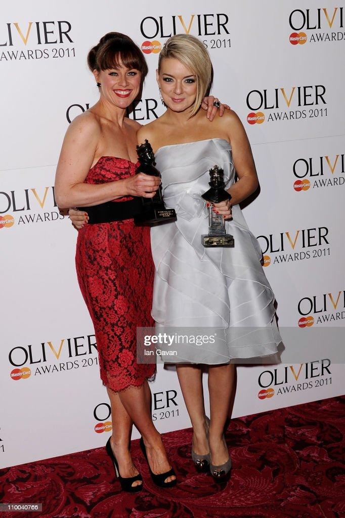 The Olivier Awards 2011 - Press Room