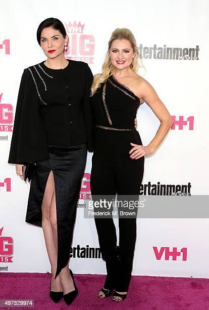 Actresses Jodi Lyn O'Keefe and Katherine Bailess attend VH1 Big in 2015 With Entertainment Weekly Awards at Pacific Design Center on November 15 2015...