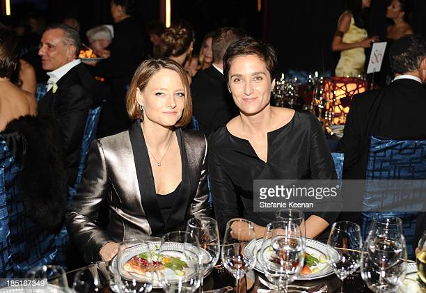 Actresses Jodie Foster and Alexandra Hedison attend the Wallis Annenberg Center for the Performing Arts Inaugural Gala presented by Salvatore...