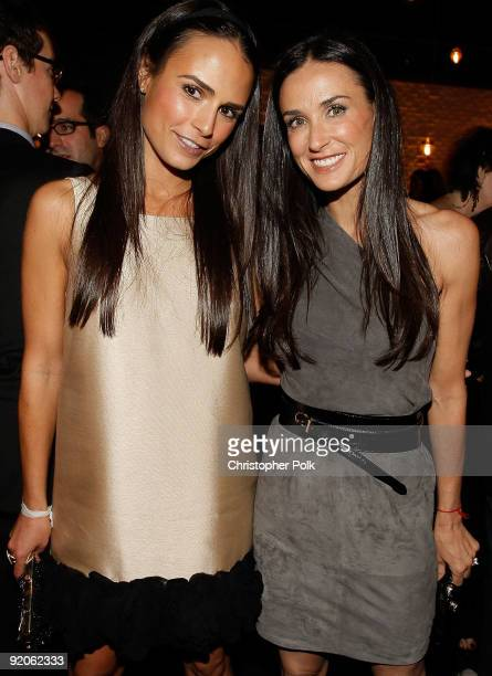LOS ANGELES CA OCTOBER 19 Actresses Jordana Brewster and Demi Moore during the celebration for Laura Day�s new book �How to Rule the World from Your...