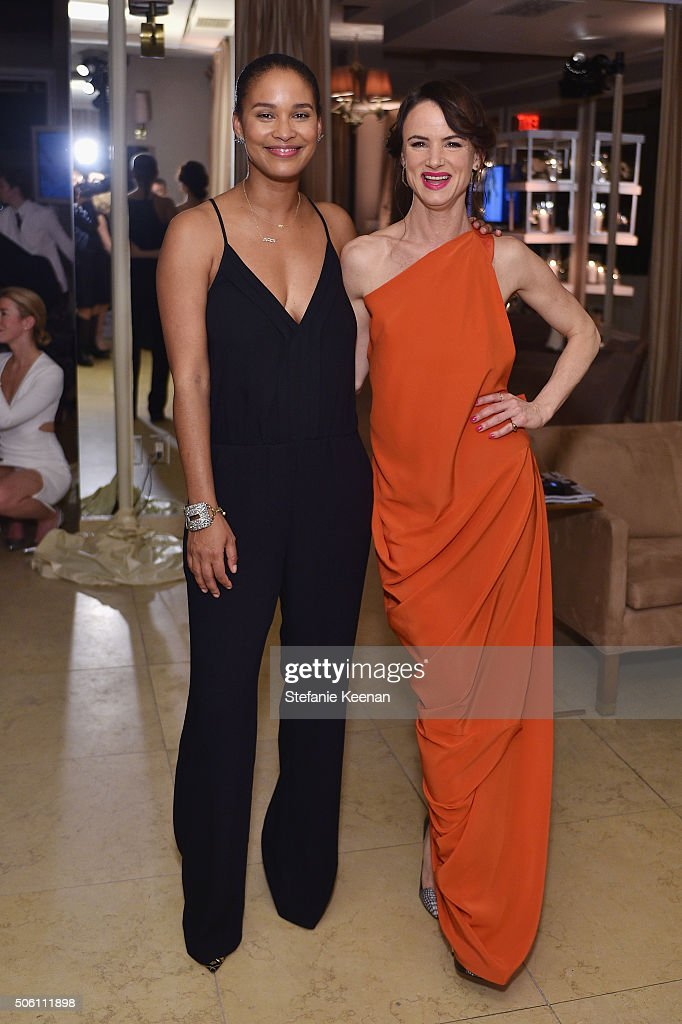 ELLE's 6th Annual Women In Television Dinner Presented By Hearts on Fire Diamonds And Olay - Inside : News Photo