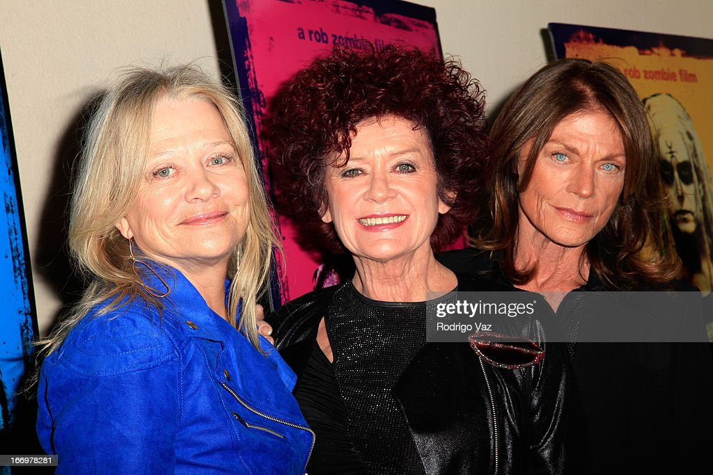 Actresses Judy Geeson, Patricia Quinn and Meg Foster arrive at Rob Zombie's 'The Lords Of Salem' Los Angeles Premiere at AMC Burbank 16 on April 18, 2013 in Burbank, California.