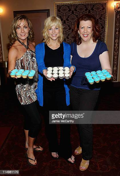 Actresses Judy McLaneLisa Brescia and Jennifer Perry attend the celebration for the 4000th Broadway performance of Mamma Mia>> at the Winter Garden...