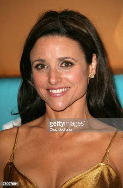 Actresses Julia LouisDreyfus arrives at the In Style Magazine and Warner Bros Studios Golden Globe After Party held at the Beverly Hilton on January...