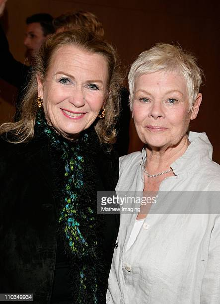 COVERAGE* Actresses Juliet Mills and Dame Judi Dench attend the screening of Cranford held at the Directors Guild of America on April 23 2008 in...