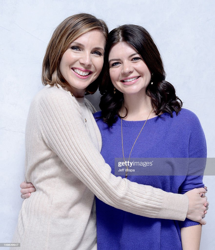 Actresses June Diane Raphael (L) and Casey Wilson pose for a portrait during the 2013 Sundance Film Festival at the WireImage Portrait Studio at Village At The Lift on January 21 2013 in Park City, Utah.