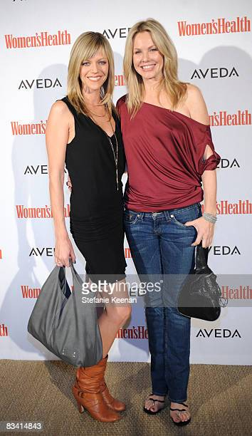 Actresses Kaitlin Olson and Andrea Roth attend The Women's Health Magazine Green For Good Soiree at The Sunset Tower Hotel on October 23 2008 in Los...