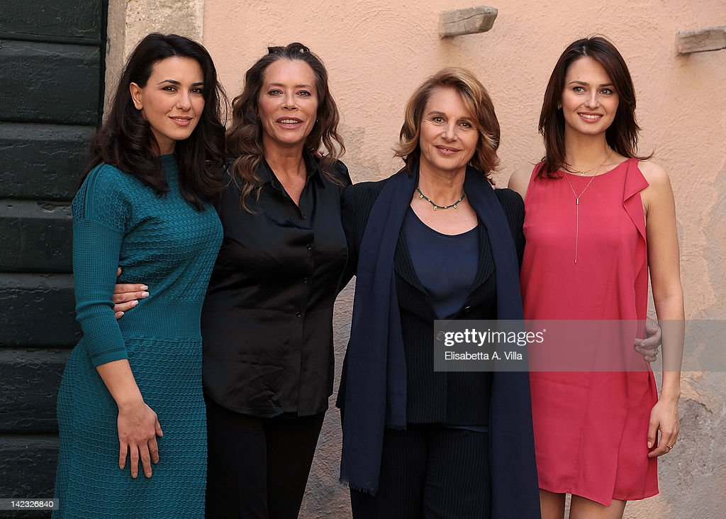 'Le Tre Rose Di Eva' Tv Series - Photocall