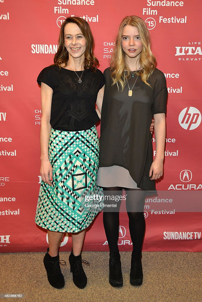 Actresses Kate Dickie and Anya Taylor Joy attend