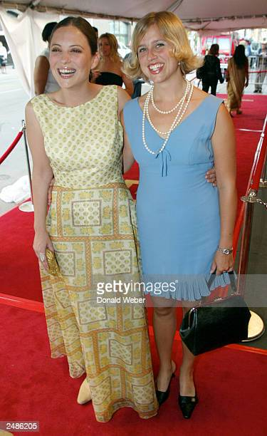 Actresses Kate Kelton and Sunday Muse attend the gala screening for The Republic of Love during the 2003 Toronto International Film Festival on...