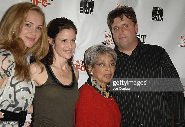 Actresses Kate Siegal Alley Sheedy Ruby Dee and Director Kyle Schickner attend the 20th Annual Newfest Steam Premiere at AMC Loews 34th Street...
