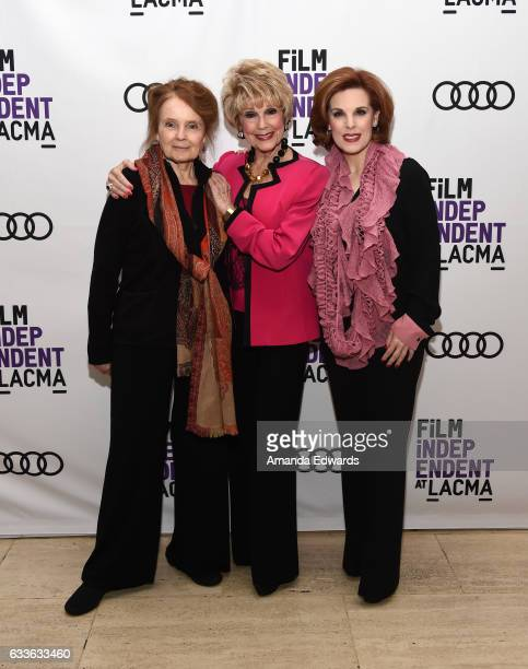 Actresses Katharine Houghton and Karen Sharpe Kramer and producer Kat Kramer attend the Film Independent Screening and QA of Guess Who's Coming To...