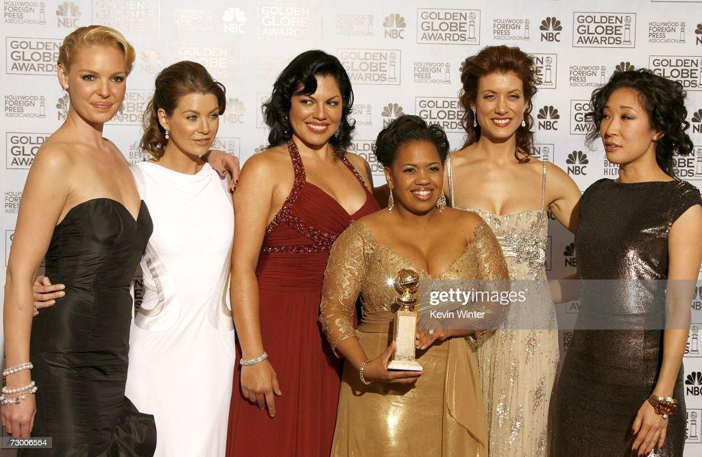 The 64th Annual Golden Globe Awards - Press Room : Nachrichtenfoto
