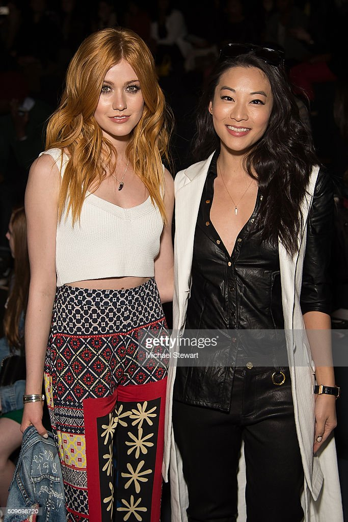 Desigual - Front Row & Backstage  - Fall 2016 New York Fashion Week: The Shows : News Photo