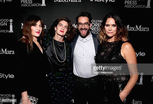 Actresses Kathryn Hahn Gaby Hoffmann Director/actor Jay Duplass and Amy Landecker attend Entertainment Weekly's Toronto Must List party at the...